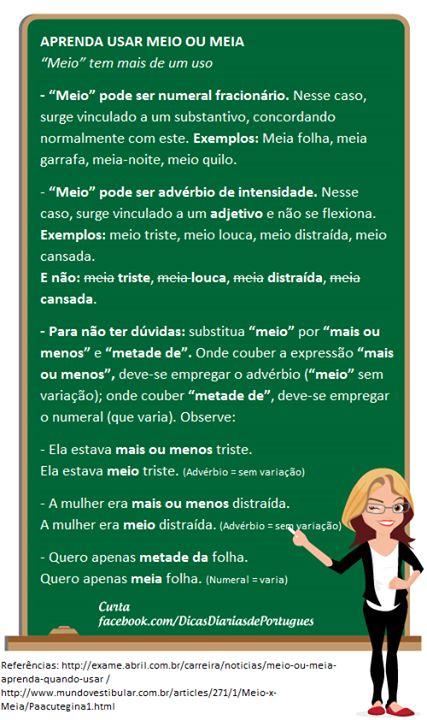 (PG) Dicas de Língua Portuguesa!