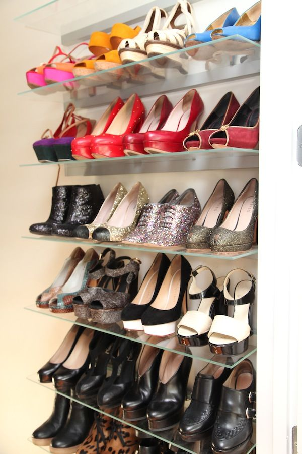 Style At Home Pamela Castillo Of Market Publique Organizing Shoesshoes