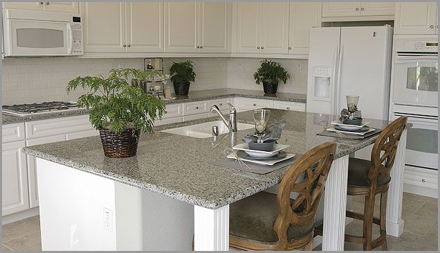 kitchen+backsplash+with+luna+pearl+granite+counters | like these, and I lije the smoke because you can add decorative ...
