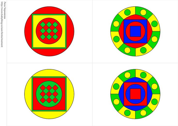 * Memory: kleur en vorm! 4-8
