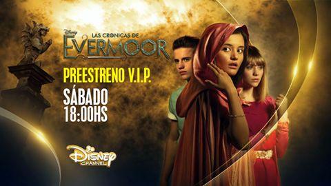 el circulo esta abierto disfrutalo antes que nadie del preestreno de #Loscronicasdeevermoor nadie querra perderselo  las cronicas de evermoor preestreno este sabado 18:30 hrs Col/Mex en #Girlzup por Disney Channel Latinoamérica