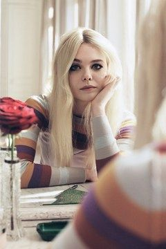 Elle Fanning looking gorgeous for VOGUE UK