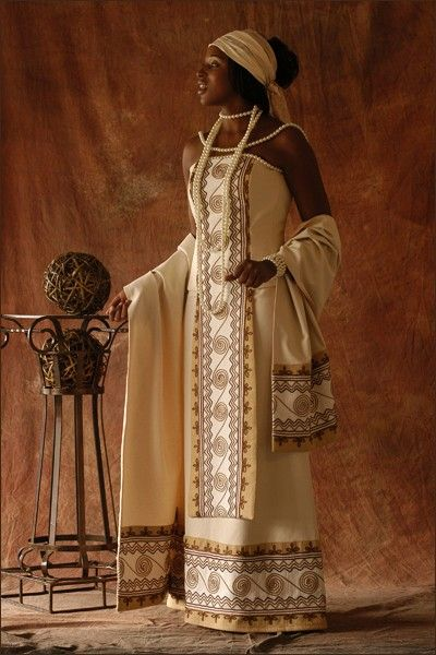 Wedding Gowns Traditional African | God's Grace Weddings