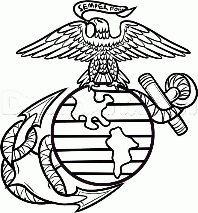best 25  marine corps symbol ideas on pinterest