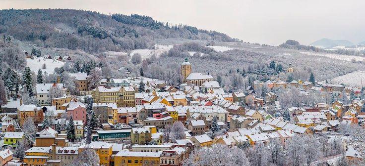 Benešov nad Ploučnicí (German: Bensen) is a town in the Ústí nad Labem Region of the Czech Republic. A beautiful castle in Saxon Renaissance style closes the main place.