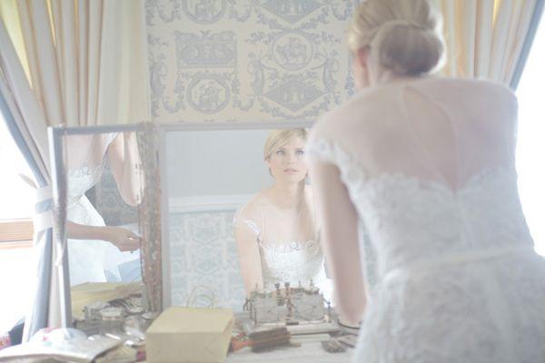 Casamento Escocês | Detalhe da noiva