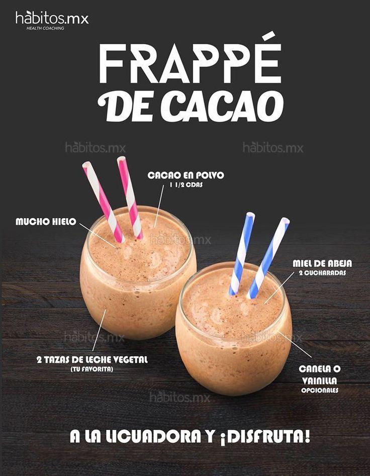 Hábitos Health Coaching   Frappé de Cacao