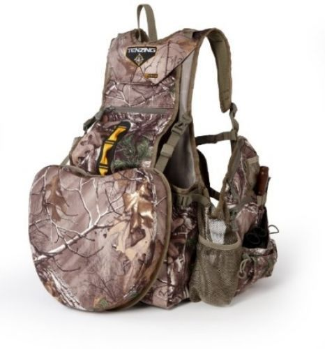 Tenzing Spring Turkey Hunting Vest Seat Camping Backpack Mossy Oak Obsession NEW