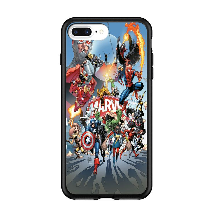 New Best Marvel Anniversary Celebration Print On Hard Cover Phone Case Protector For iPhone And Samsung Case