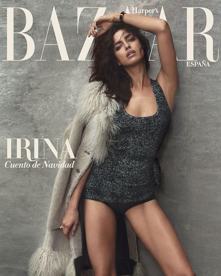 Irina Shayk, portada de diciembre de Harper´s Bazaar