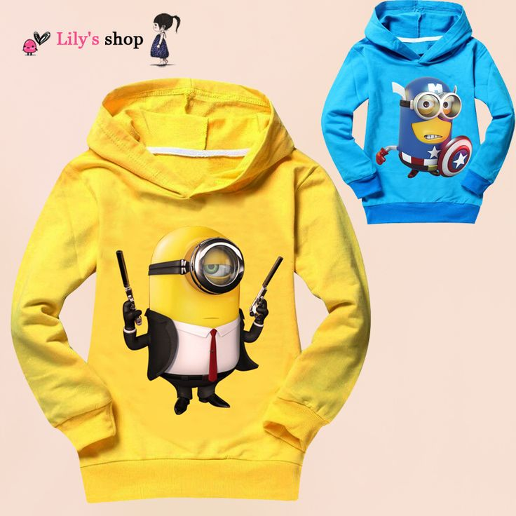 Unisex boys girls clothes long sleeve children clothing autumn boy t shirts despicable me minion kids hoodies girl t-shirt #>=#>=#>=#>=#> Click on the pin to check out discount price, color, size, shipping, etc. Save and like it!