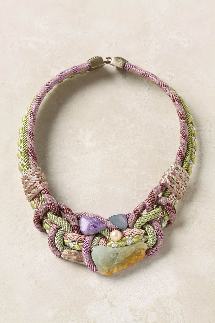 gorgeous tangled necklace