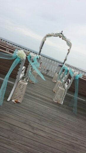 Benches Already Set Up Make This A Clear Choice For An Oc Wedding Location