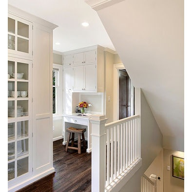 I love all white banisters, but is that crazy impractical? Anyone have all white? Does it need to be repainted every year to look nice?
