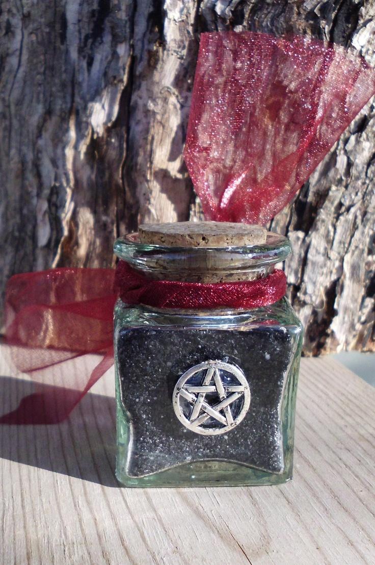 Black Salt oder Hexen Salz - Verbannen Negativität, entfernen Flüche und Flüche, Verbannen Bad Nachbarn, Reinigung, Konsekration