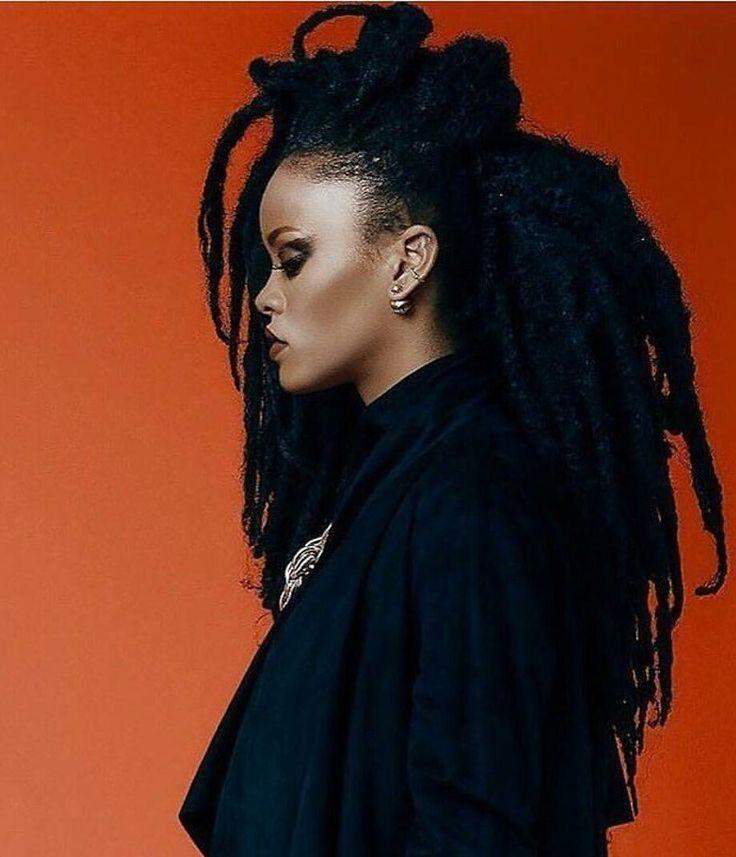 Rihanna Slays In Faux Locs Braids Twists And Locs