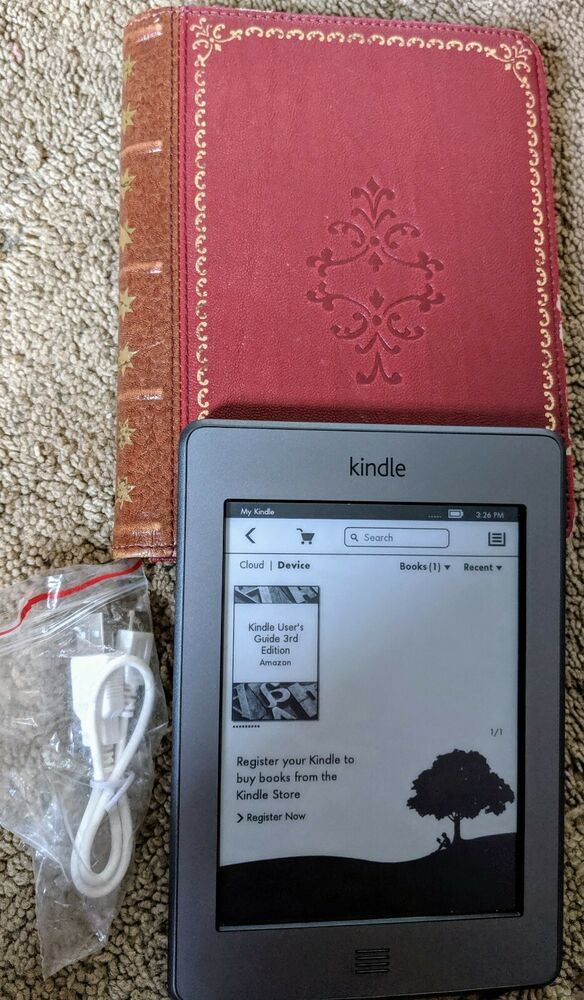 Kindle Touch Black White Display E Ink Wi Fi Internet Ebook Tablet Reader Amazon Ebay St Lucia User Guide