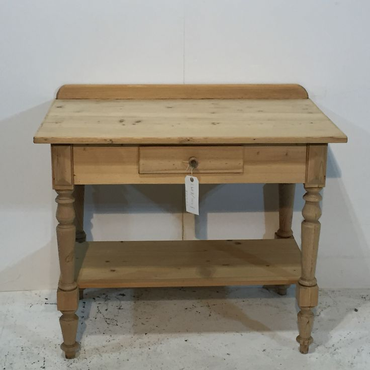 Turn Of The Century Old Pine Wash Stand (T5302B)