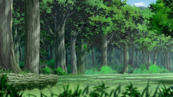Bosque naruto by lwisf3rxd on deviantart anime - Anime forest background ...