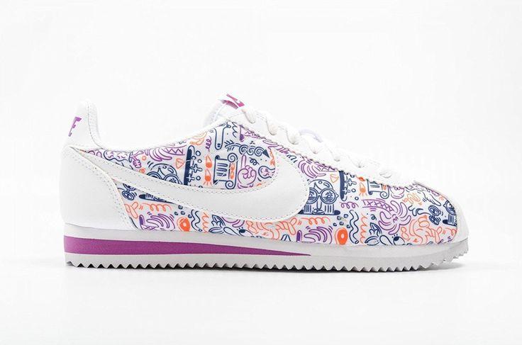 Nike Damen Wmns Classic Cortez Print Turnschuhe: Amazon.de: Schuhe & Handtaschen