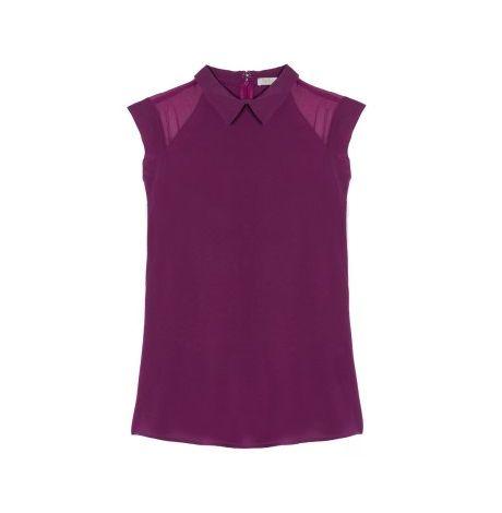 Ultra violet : chemise sans manche Pablo