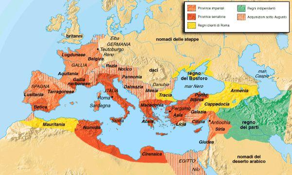 BM (Bruno Mondadori) Storia Insegnanti - L'impero romano durante il principato di Augusto