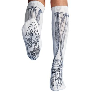 Anatomical Chart Company Bone Socks | allheart.com