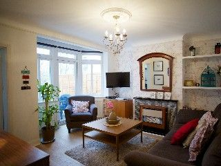 $1510. Newly Refurbished Beautiful Spacious Garden Apartment Near Wembley. 1 Brm + sofa. 2 mins to Wembley Park Stn, then 24 mins to Westminster Stn. Taxi $55-$70. Good reviews.