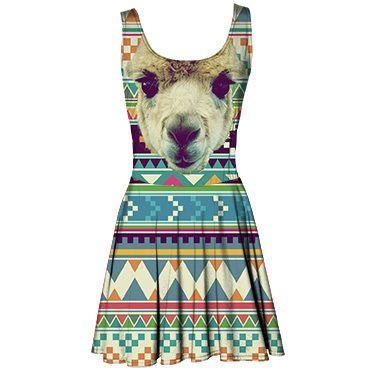 Alpaca circle dress / Mr. Gugu & Miss Go