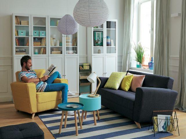 Les 110 meilleures images du tableau petits espaces for Appartement elle deco