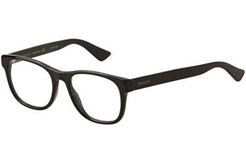 3cbd2fe2e705 Gucci GG0004O Plastic Square Eyeglasses GG 0004O 53mm