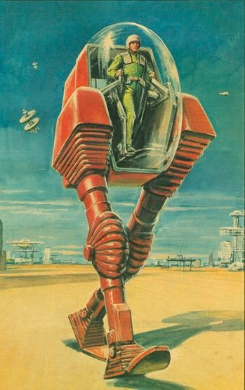 This Robot Was Made For Walking AtomicAge MidCentury Future Futurism