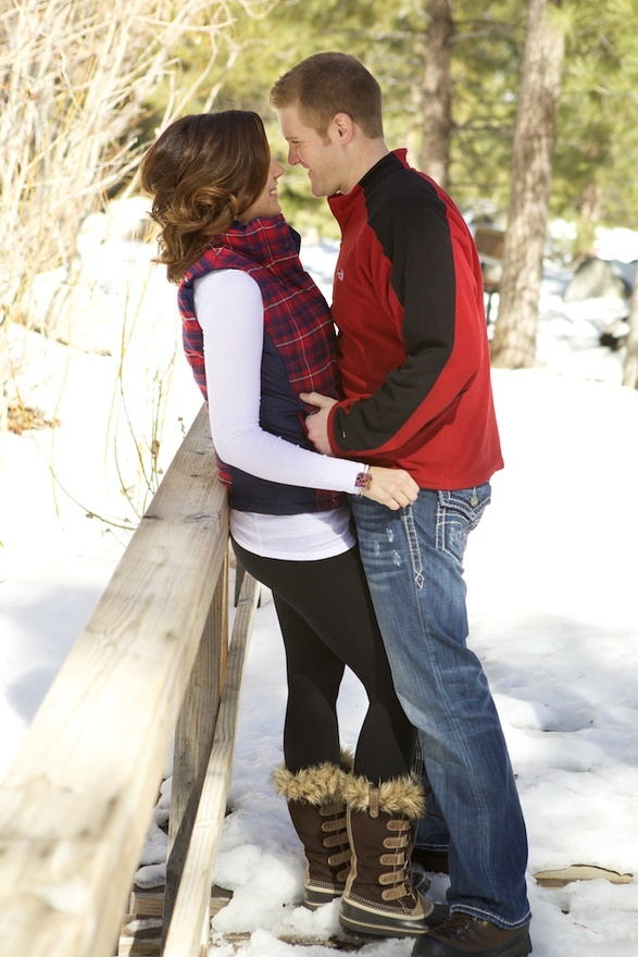 Love this photo! Tyler is insisting on a winter engagement shoot ;)