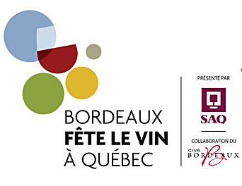 Bordeaux wine festival in Québec city