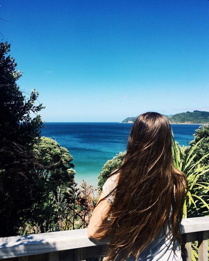 pinterest & instagram: @alvssageorgia // Ding Bay, Langs Beach, New Zealand