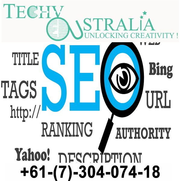 +61-(7)-30-40-74-18   Search engine optimization - Techy Australia