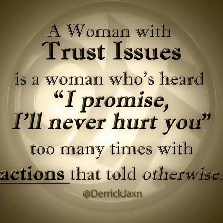 "Men please be respectful to your Woman & keep you're promises. Don't become one of the reasons a Woman has lost faith in Men, for Her only to become unlikely or no longer willing to trust or believe other Men... A woman with trust issues.. Is a woman who's heard ""I promise, I'll never hurt you"" too many times with ACTIONS that told Her otherwise."