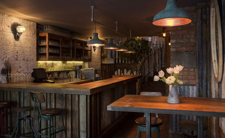 """Barnyard (""""a restaurant that hints at the farm-to-table theme""""), Charlotte Street, London, UK"""