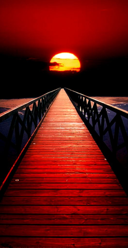i have chosen this photo because it looks really cool as it looks like a walk way straight to the sun and gives an amazing composition