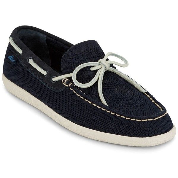 G.h. Bass & Co. Walker Boat Shoes (5.970 RUB) ❤ liked on Polyvore featuring men's fashion, men's shoes, men's loafers, navy, sperry top sider mens shoes, mens lightweight running shoes, mens deck shoes, mens breathable shoes and mens navy shoes