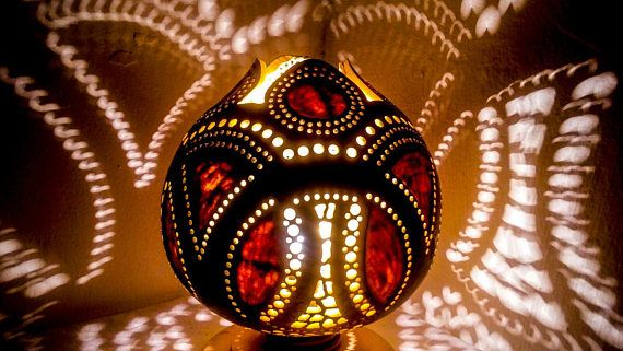 Valentine's Day Sales Gourd lamp Ottoman Turkish lamp
