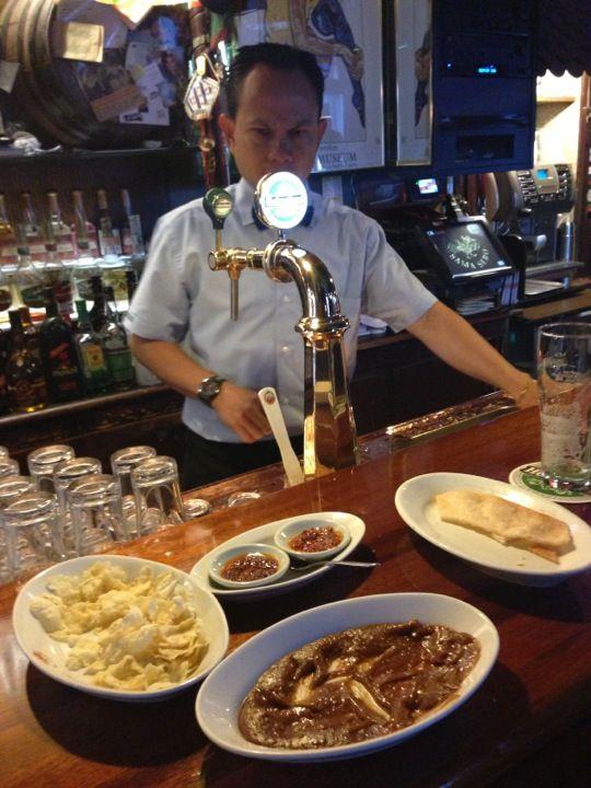 Indonesian restaurant Sama Sebo in Amsterdam, Noord-Holland