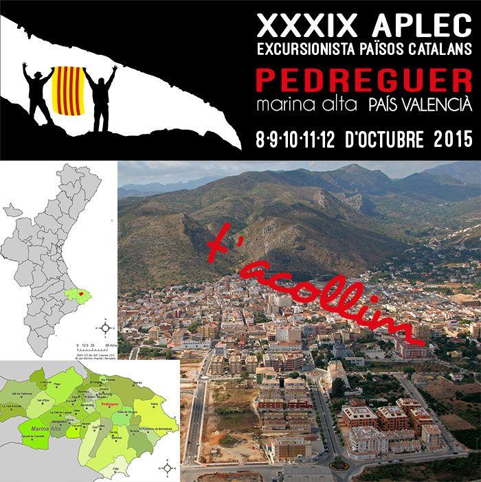 XXXIX Aplec Excursionista dels #PPCC #Pedreguer #LaMarina
