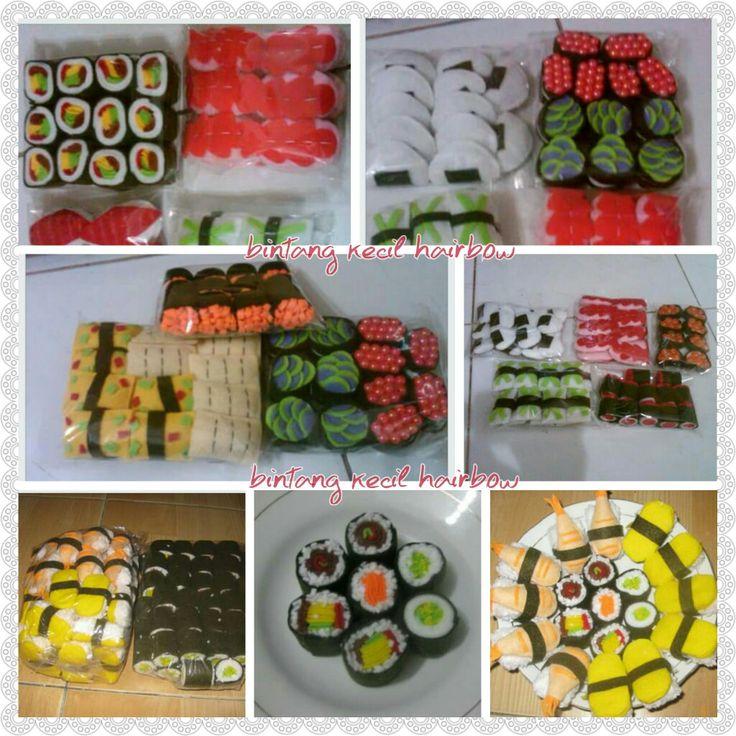 Sushi set souvenir