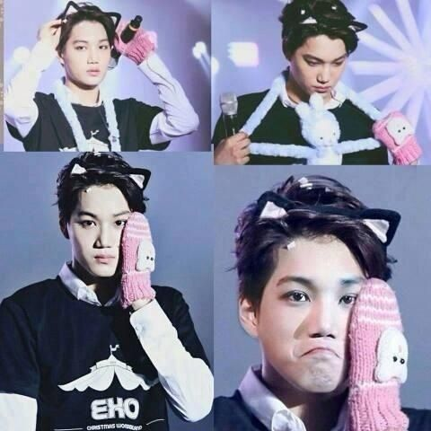 Kai and them cat ears ;)