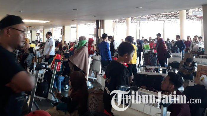 Prediksi Puncak Arus Mudik Lebaran Terjadi Hari Ini, Bandara Juanda Surabaya Terpantau Normal