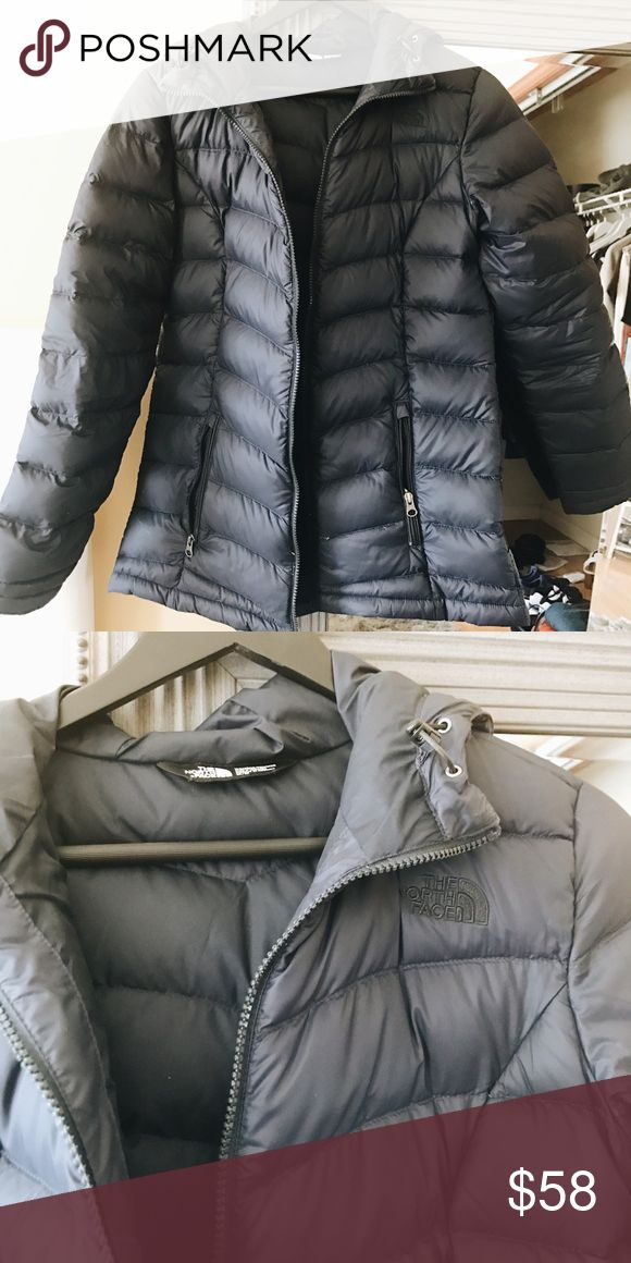North Face Blue Jacket Worn many times and got a good use out of it. Selling it for cheap North Face Jackets & Coats
