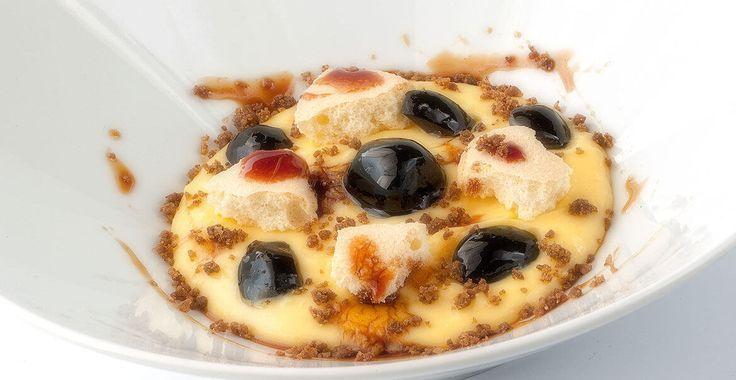 Ricetta Crema Zabaione con Olive Nocellara del Belice nere - Ricette con le Olive