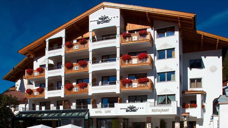 Und so sieht es heute aus, das familiengeführte heimelige Hotel mit traditionellem Charakter, das Hotel Schwarzer Adler in Nauders