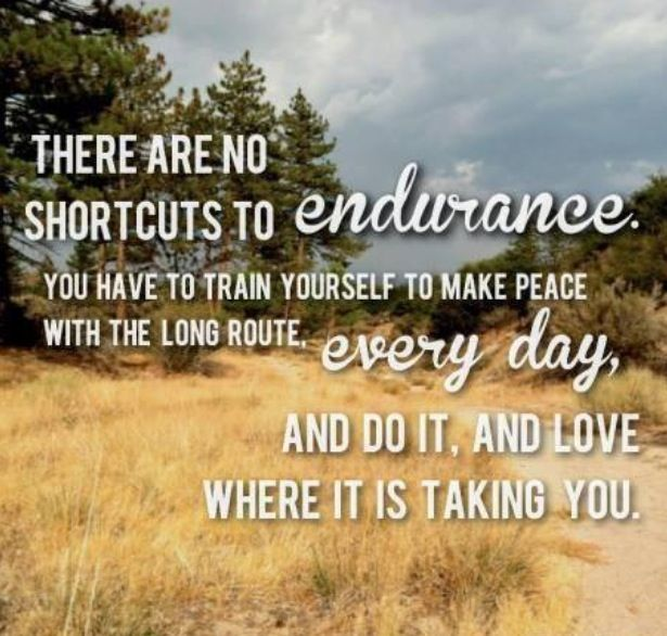 how to train for endurance running